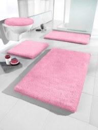 badteppich rosa. Black Bedroom Furniture Sets. Home Design Ideas