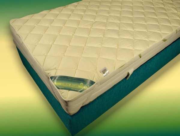 Garanta Cotton Dream Unterbett aus Baumwolle mit Spanngummis