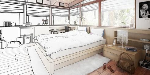 Schlafzimmer richtig einrichten - das sollte unbedingt beachtet werden