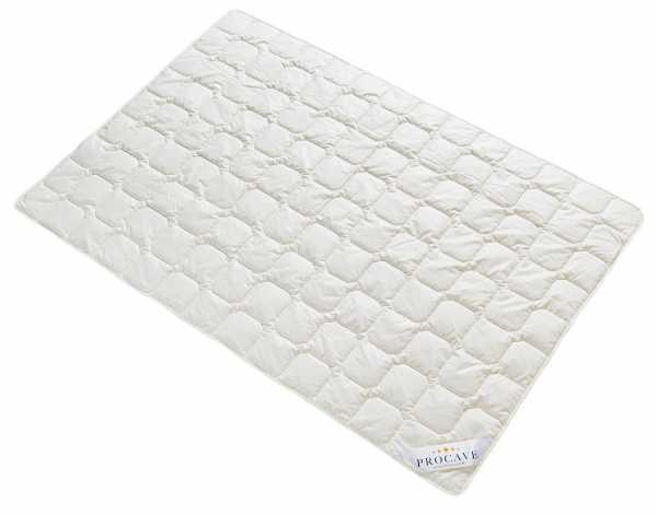 Wildseide Exquisit Qualitäts-Bettdecke für den Sommer leichte Sommerbettdecke Tussahseide aus der Natur atmungsaktiv wärmeausgleichend PROCAVE Matratzenschutz24