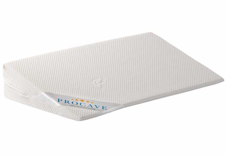 PROCAVE Doppelbettbr/ücke mit Silver Protect-Bezug 25 x 200 cm