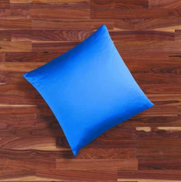 Seidenbettwäsche MAURITIUS in der Farbe royalblau