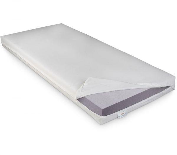 PROCAVE Pflegematratze mit Kaltschaumkern und wasserdichtem Bezug in weiß Matratzenschutz24