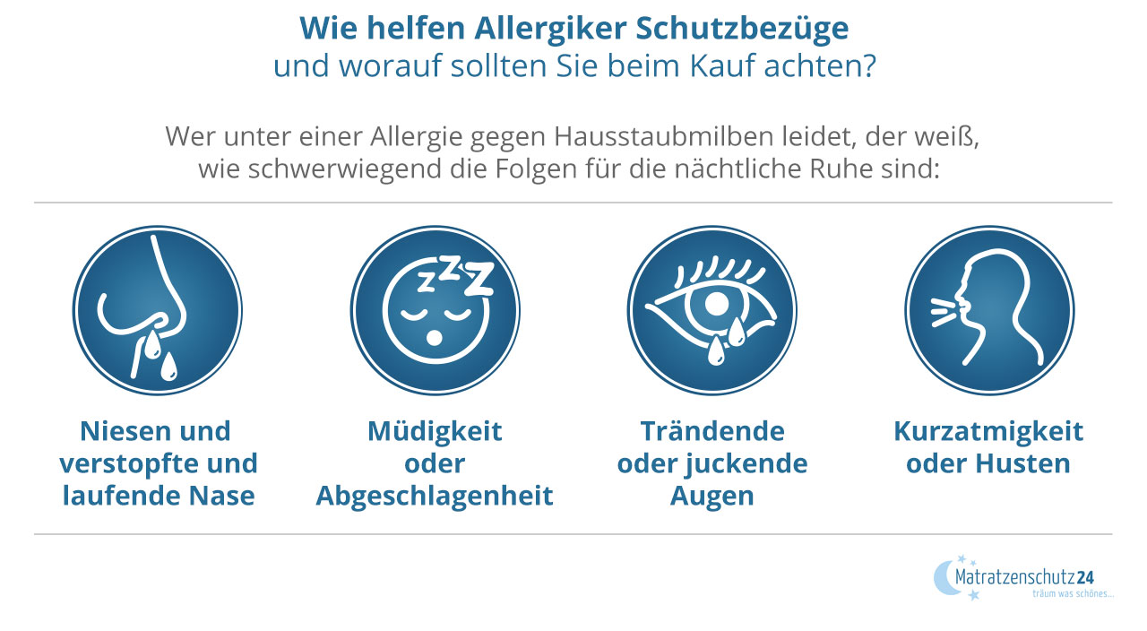 Wie hilft ein Encasing bei Allergie?