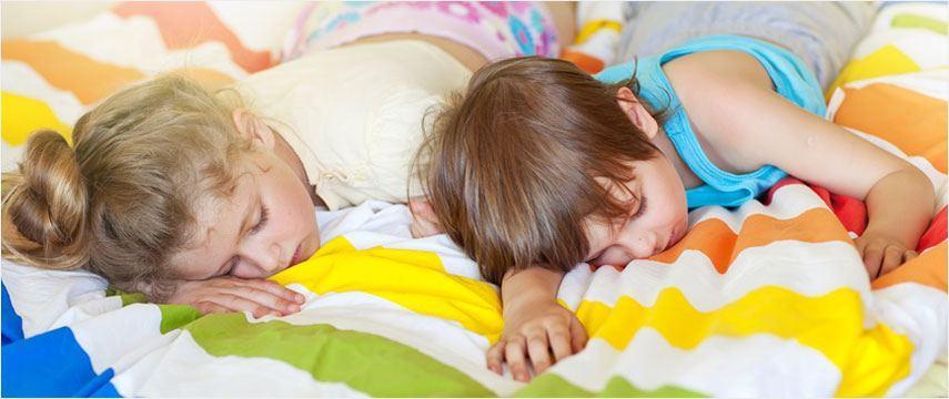sicheres schlafen für Kinder