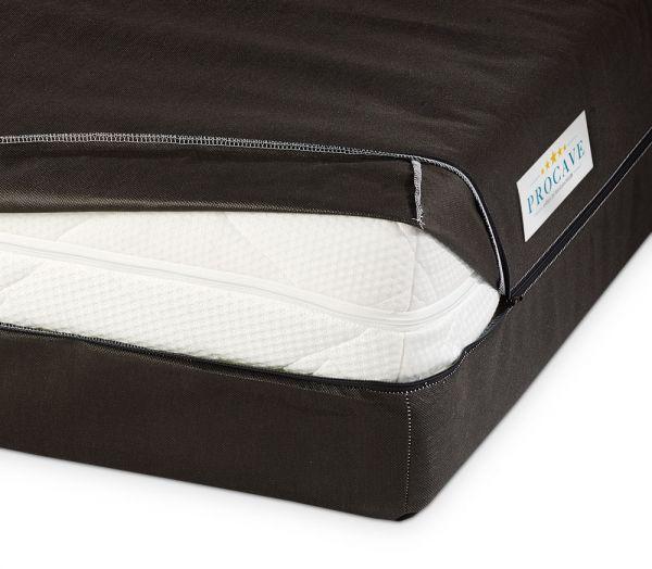 PROCAVE Matratzen Aufbewahrungstasche Matratzenhülle um Matratzen zu verstauen für den Transport oder zu Lagerung Matratzenschutz24