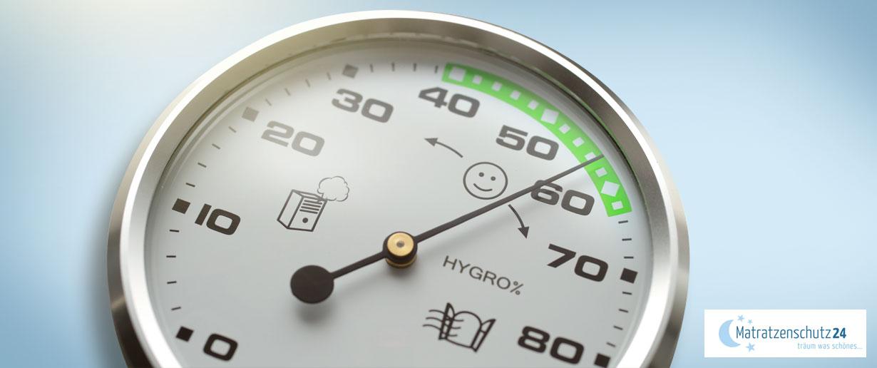klassisches Hygrometer mit Zeiger