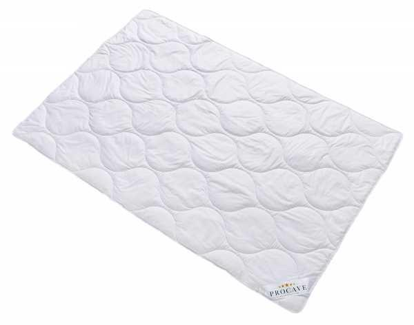 Baumwolle Exquisit Qualitäts-Bettdecke für den Sommer leichte Sommerbettdecke Natur-Baumwolle aus der Natur atmungsaktiv wärmeausgleichend PROCAVE Matratzenschutz24