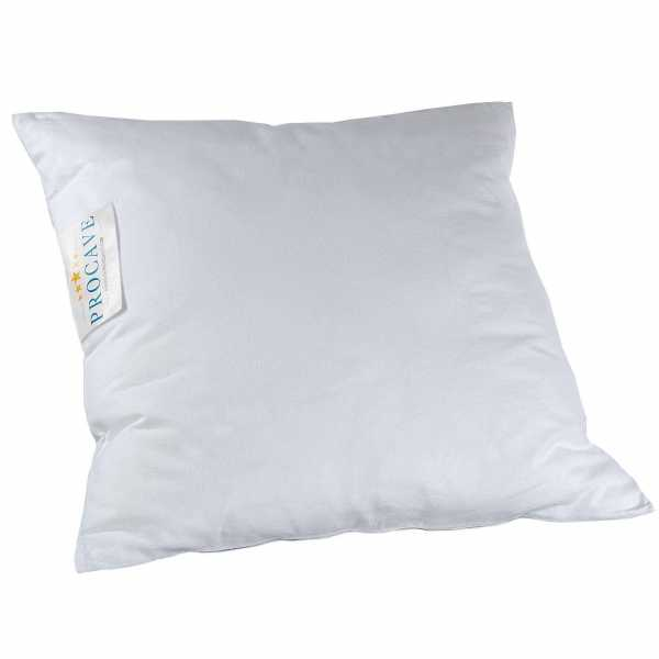 PROCAVE Feinflanell - Schutzbezug für Kissen Kissenbezug aus 100% Baumwolle mit Reißverschluss - Made in Germany - schützt Das Kissen vor Verunreinigung