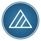 Dreieck mit zwei diagonalen Linien