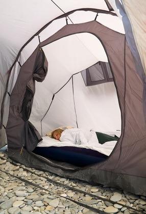 Im Eigenen Schlafzelt Im Kinderzimmer Schlafen Kinder Gern.