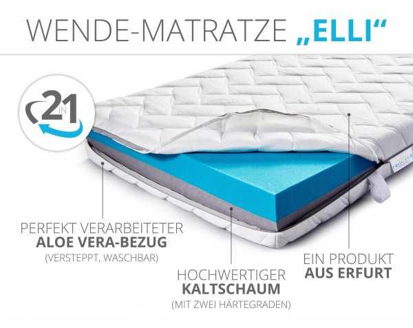 ELLI Wende-Matratze aus Erfurt von PROCAVE 100% in Deutschland hergestellt