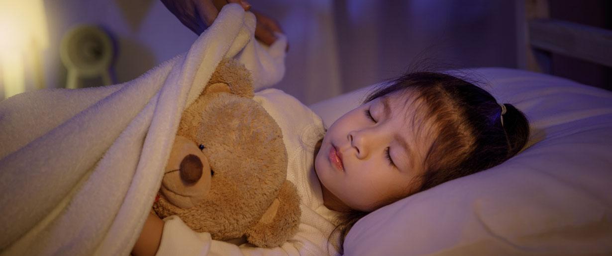 Kinder feste Einschlafrituale etablieren