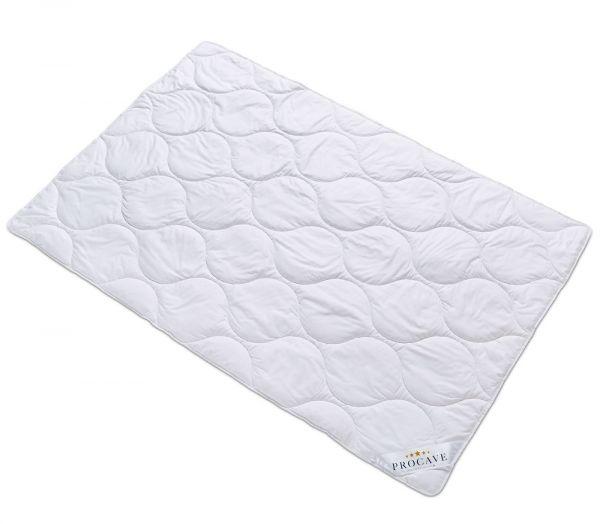PROCAVE Baumwolle Exquisit Qualitäts-Bettdecke für den Sommer leichte Sommerbettdecke Natur-Baumwolle aus der Natur atmungsaktiv wärmeausgleichend PROCAVE Matratzenschutz24