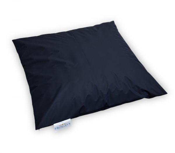 wasserdichter Kissenbezug abwischbar in dunkelblau