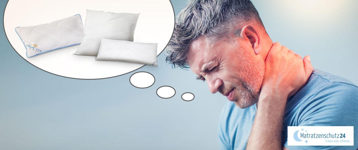 welches Kopfkissen bei Nackenschmerzen?
