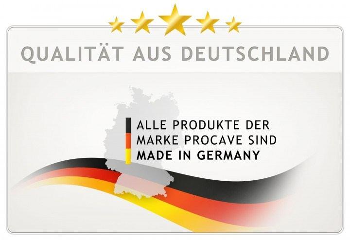Moltonauflage PROCAVE Matratzenschoner Baumwolle