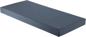Pflegematratze mit Kaltschaumkern und wasserdichtem Bezug in dunkelblau
