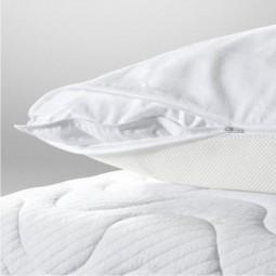 Air-Pillo Kissen-Rundum-Bezug mit Sommerseite und Winterseite