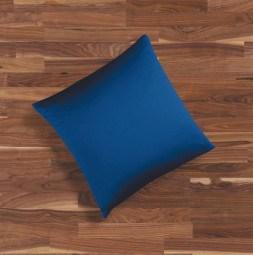 Seidenbettwäsche MAURITIUS in der Farbe dunkelblau