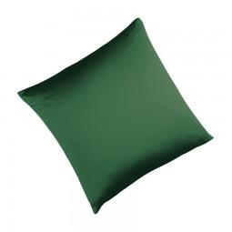 Seidenbettwäsche MAURITIUS in der Farbe dunkelgrün