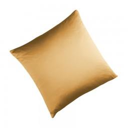 Seidenbettwäsche MAURITIUS in der Farbe gold
