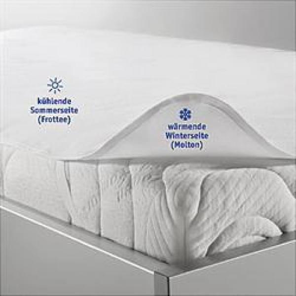 Matratzenauflage Season-Protect mit Sommerseite und Winterseite