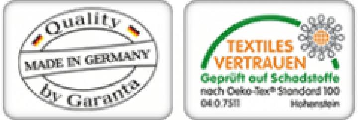 Garanta Tessin Merino Schafwolle Unterbett mit Spanngummis