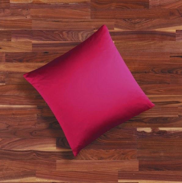 Seidenbettwäsche MAURITIUS in der Farbe rubinrot
